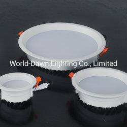 3000K/4000K/6000K+Difusor de PMMA de fundición a presión de aluminio de 2 años de garantía Precio bajo la parte inferior del panel LED Empotrables de emisores de luz