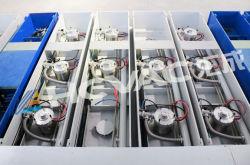 Pulverização Catódica Inline o vácuo do sistema da máquina de revestimento para o revestimento de baixo e filmes no coletor solar de instrumentos