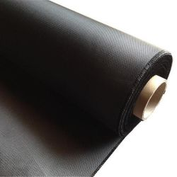 Superficie della scheda isolante tessuto in fibra di vetro nero resistente al fuoco
