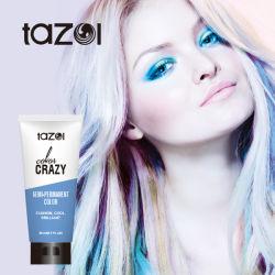 FÁBRICA GMPC OEM Moda Cool brilho Semi-Permanente Cor cabelo Dye Cor do cabelo Gel Cosmetic cabelo Beleza Azul Cor
