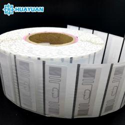 Долго читать расстояние по пошиву одежды бумаги отслеживания RFID на наклейке пассивный МР6 ER62 EPC Gen2 UHF RFID