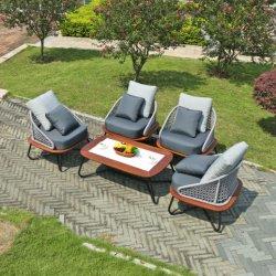 ホテルビストロホームバルコニーガーデンパティオサンルーム屋外モダンソファ 椅子の家具を置きなさい