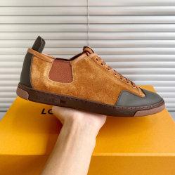 2020 de Nieuwe Schoenen van de Schoenen van de Sport van de Schoenen van de Vrije tijd van het Leer van het Merk van het Ontwerp Echte In te ademen Toevallige voor Mensen