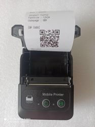 De goedkope Mini 58mm Draagbare Mobiele Handbediende Thermische Printer van het Ontvangstbewijs met Interface USB Bluetooth