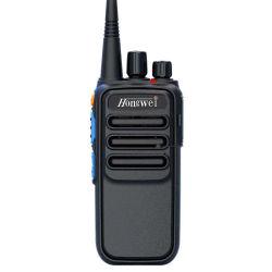Profesional Walkie Talkie analógicos de bolsillo Radio bidireccional 5 vatios con cifrado de larga distancia