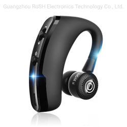 Freisprechgeschäft schließen drahtloser Bluetooth Kopfhörer des telefon-V9 mit den Mic-Sprachsteuergeräuschen, die Kopfhörer für Laufwerk beenden, an Telefon 2 an