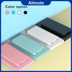 Alimoto 10000mAh Multi Color Smart Phone Slim Banco de Potência