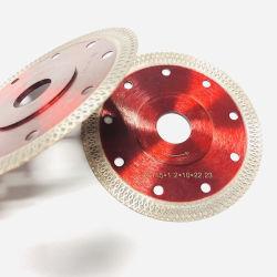 Super dünner ein 4.5 Zoll-Ineinander greifen-Turbo-Diamant-keramischer Ausschnitt Sägeblatt für Fliese