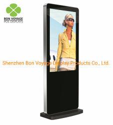 POS de suelo de la publicidad digital pantalla LCD para supermercado&Shopping Mall