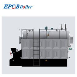 Ecb 작동이 쉬움 솔리드 석탄 목재 치인 연료 연소식 스팀 보일러