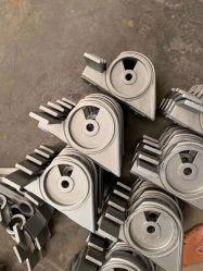 Le moulage de pièces de la cire perdue raccord de tuyauterie en acier inoxydable alliage acier au carbone en acier inoxydable de moulage à modèle perdu de la cire perdue