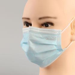 Descartáveis Greenfound máscara cirúrgica não tecidos de Máscara Medical Máscara com marcação CE