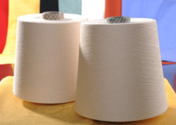 Текстильная пряжа из хлопка 40s/1 плетение и домашний вязания пряжа
