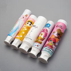 Biodegradable, tubos de pasta de dientes de plástico laminado de aluminio