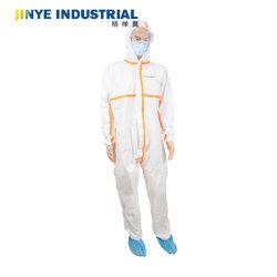 Preço por grosso fato-macaco descartáveis de vestuário de segurança fabricado na China