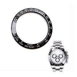 卸し売り時計ケースの部品の陶磁器の表面を機械で造る高精度CNCは移動可能な腕時計の斜面を挿入する