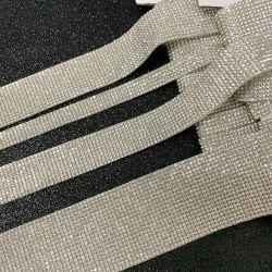 접착식 크리스탈 다이아몬드 리본 DIY 장식 스티커 2mm 라인스톤