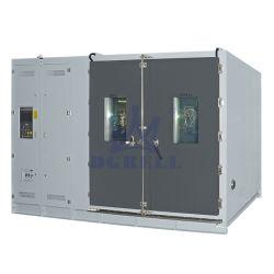 حجرة اختبار مناخي بيئي درجة حرارة غرفة التحكم في الرطوبة