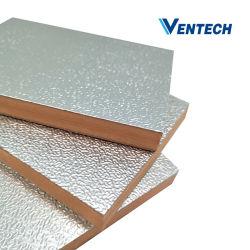 アルミ箔を用いた複合フェノールフォーム熱反射断熱ボード