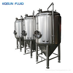1000L куртка воды для охлаждения пива конические, вызванные действием ферментов Fermentor