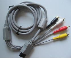 S-Anschluss u. 3 Rcas Kabel B für Wii