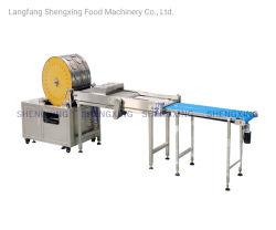 기계 또는 Samosa 생과자 기계 (실제적인 공장 상인 아닙니다)가 자동적인 스프링롤에 의하여 시트를 깐다