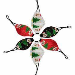 Navulbare Gloeiende Lichtgevende leiden van het Masker van Kerstmis van het Festival van de Partij van het Masker USB