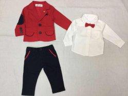 Ropa de bebé trajes de primavera y otoño, primavera y otoño bebé ropa, trajes de caballero, la ropa de los niños, los chicos de estilo exterior, Children's vestidos
