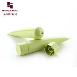 O polietileno verde PE Cana/Gel Creme Cosméticos plástico/Soro/corpo de protecção solar/Lipgloss/ Mascara/Eyelash/Eyeliner tubo macio cosméticos hidratantes de embalagem