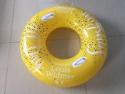 黄色膨張式ライダースイムプールリング