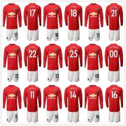 19 20 Uitrusting van de Voetbal van Manchester Voetbal Verenigde Jerseys Utd