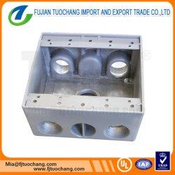 Impermeable de PVC gris Cuadro eléctrico exterior/interior