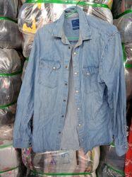 Les Hommes De La Mode Dark Lavar Jeans Denim Shirt Vetements Vetements Veste Manchester Longues Casual Coton
