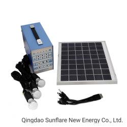 3 بُصيلات ضوئية/مروحة تدعم نظام الطاقة الشمسية بقدرة 30 واط/نظام الطاقة الشمسية المحمول أطقم الطاقة للإضاءة العائلية والشحن المتنقل SF-30 وات