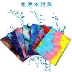 印刷されたヨガタオルの環境保護のタイの染料のヨガタオルの滑り止めの練習のヨガ毛布