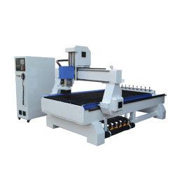 1500*3000mm Schlitz-Vakuumtisch-Holzbearbeitung-hölzerner Ausschnitt-Stich der Aluminiumlegierung-T, der Maschine CNC-Fräser mit Lnc Steuerung schnitzt