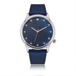 Модная женская Star Sky красочные сплава Quartz наручные часы (JY-AL007A)
