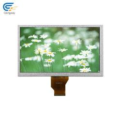 """9 """" alto modulo dello schermo dell'affissione a cristalli liquidi di luminosità 800*480 1400nits 50pin"""