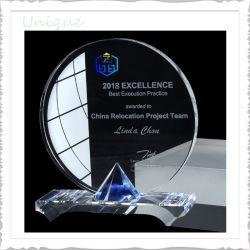 Commerce de gros des blancs personnalisée prix d'usine 3D Photo Sublimation trophée de cristal pour l'attribution événement