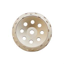"""7""""PCD pulido de diamantes de la rueda de la Copa para la eliminación del revestimiento epoxi"""