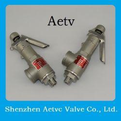 صمام أمان من الفولاذ المقاوم للصدأ سعر / صمام تصريف الضغط / صمام أمان الضغط