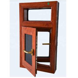 Kundenspezifischer hölzernes ProfilaluminiumWoodgrain des Ende-6063-T5 für Tür und Fenster