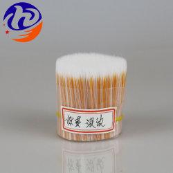 Pega de plástico preto de alta qualidade de cerdas de nylon Pet sintéticos de fibras de Afiação de PBT Paint
