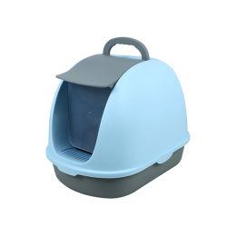 Kundengerechte Plastikhaustier-Sänfte-Kasten-/Katze-Toilette mit Poop Scooper