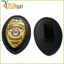 La polizia militare dell'esercito del distintivo della decorazione di marchio del metallo su ordinazione di modo 3D Badge