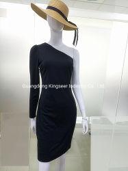 주문 새로운 디자인 형식 여자 1개의 Cotton/Polyester 어깨 숙녀 약식 야회복