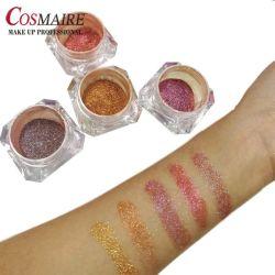 Commerce de gros sous étiquette privée de l'Oeil de maquillage Ombre Duochrome Chameleon Pigment Ombre à paupières en poudre