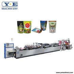 Yezd-600zl Automatische Plastic Tribune op de Zak die van de Zak van de Ritssluiting Machine maken