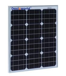 Monokristalline kundenspezifische Großhandelsmono-/Polysonnenenergie-Panel PV-Baugruppe 5W 10W 15W 20W 30W 40W 50W