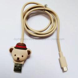 USB Câble de type_c ours de fil de câble de données de charge 1.0